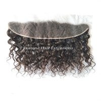 Natural Curly Lace Frontal 13x4
