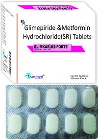 Glimepiride I.p. 1 Mg.  + Metformin Hcl. I.p. 1000 Mg.