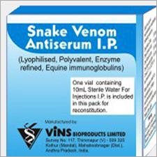 Snake Venom Antiserum IP