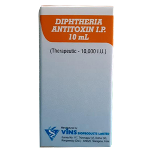 Diphtheria Antitoxin Injection 10000 IU