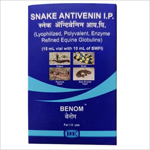 Snake Antivenin Injection