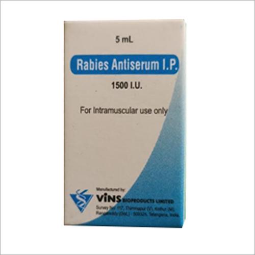 5 ml Rabies Antiserum I.P