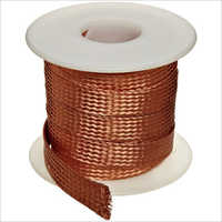 Bare Braided Copper Wire Rope-Strip