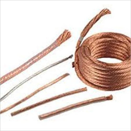 Flexible Stranded Copper Wire Rope Conductor Tinned