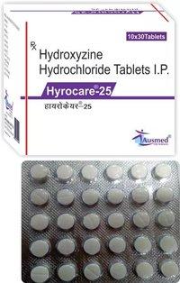 Hydroxyzine Hydrochloride IP 10 mg.