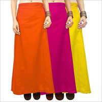 Plain Saree Petticoat