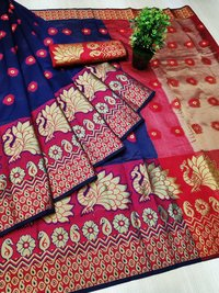 Cotton Jacquard Saree