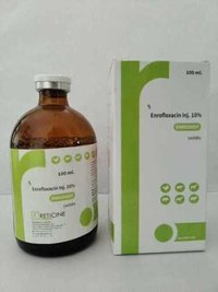 INJ. ENROFLOXACIN IP 100MG/ML( ENRODEEP)