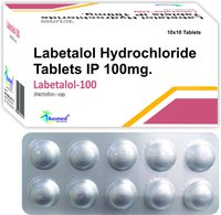 Labetalol Hydrochloride  IP 100mg./ LABETALOL 100