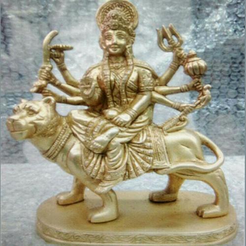 Brass Maa Durga Statue