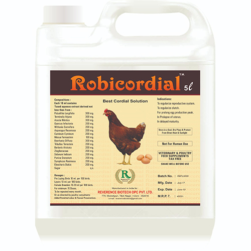 Robicordial Best Cordial Solution