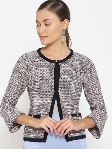 Womens Short Sleeve Cardigan
