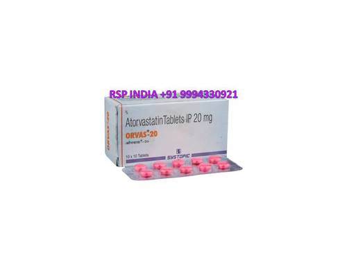 Orvas 20 Mg Tablets