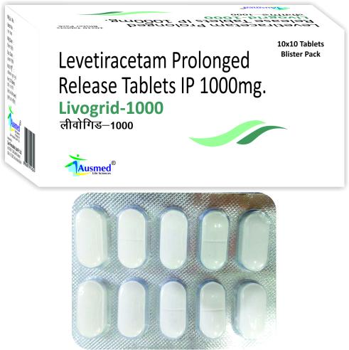 Levetiracetam IP 1000 mg.