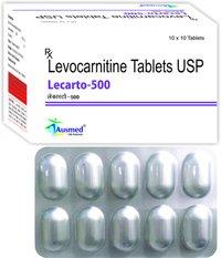 Levocarnitine Usp 500mg./lecarto-500