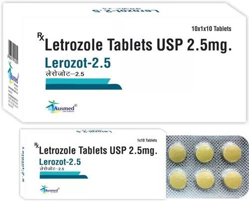 Letrozole USP 2.5mg/LEROZOT-2.5