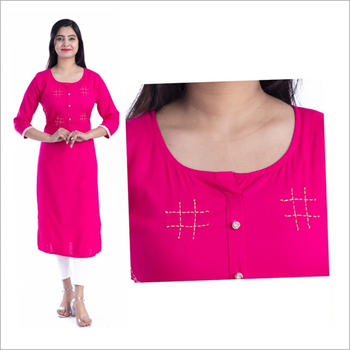 Ladies Plain Kurti