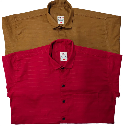 Mens Doby Cotton Shirts