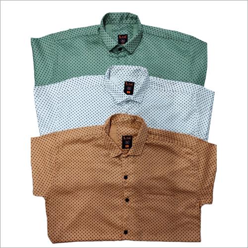Mens Dotted Shirts