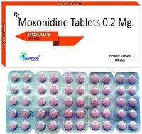 Moxonidine BP 0.2mg./MOXAUS 0.2