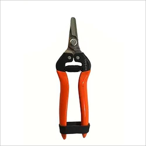 Vinka Pruning Secateur - 7.5 Snip Gardening Scissors Steel (Brown) (Manual)