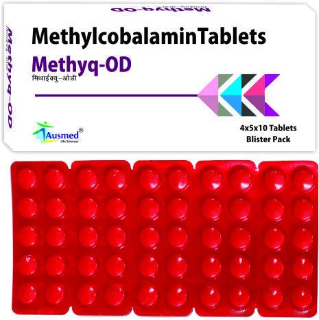 Methylcobalamin I.p. 500mcg./methyq.