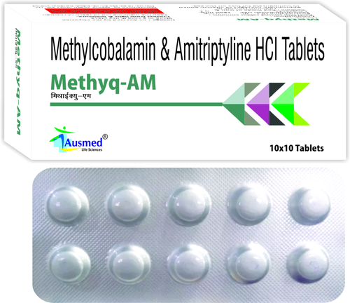 Amytriptyline Hci Ip 5mg. + Methycobalamin Usp 1500mg./methyq-am