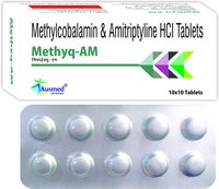 Amytriptyline Hci Ip 5mg. + Methycobalamin Usp 1500mg./methyq-am