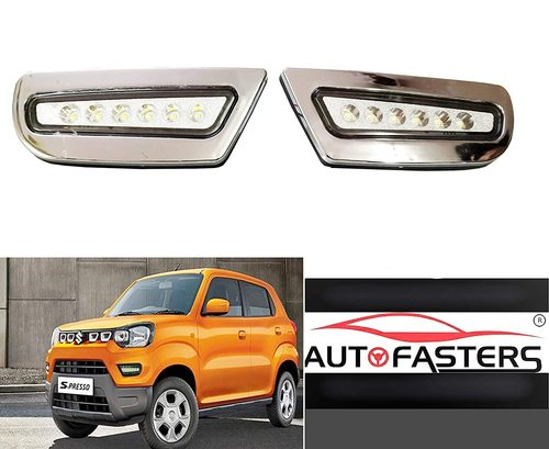 Car Led fog Light For New Maruti Suzuki S-Persso 2019 Chrome