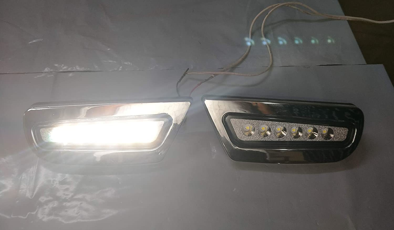 Car Led fog Light For New Maruti Suzuki S-Persso 2019 Chrome