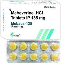 Mebeverine Hydrochloride Ip  135mg . Mebaus-135.