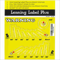 Leaning Label Plus