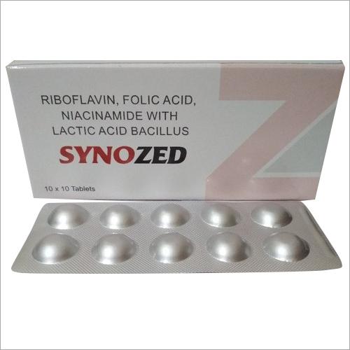 Riboflavin Niacinamide Folic Acid Tablet