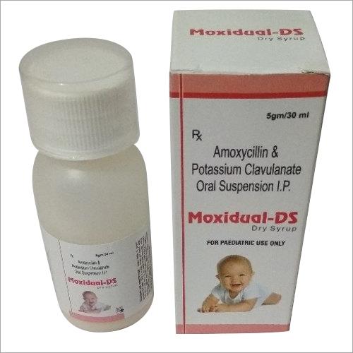Amoxycillin & Potassium Clavulanic Dry Syrup