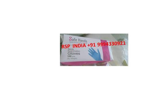 Safe Hands Nitrile Examination Gloves