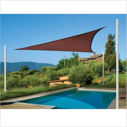 Tensile Pool Sun Shed Covering
