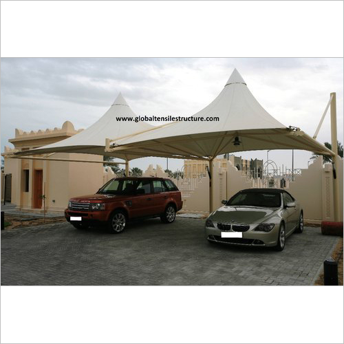 Cone Tensile Car Parking Structure