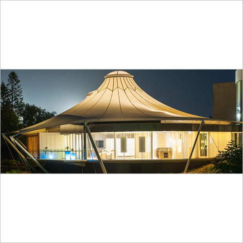 Outdoor Tensile Gazebo Structure