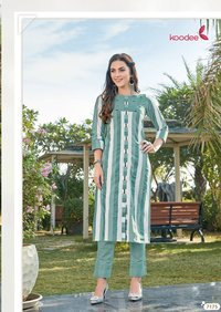 Koodee by Colorbar VOl-3 Designer Kurti