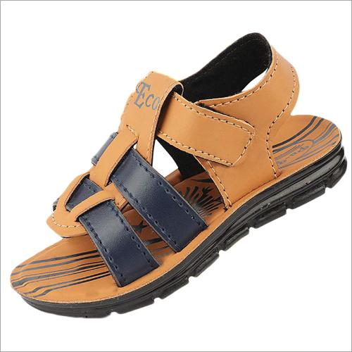 Kids PU Tan Brown Sandals