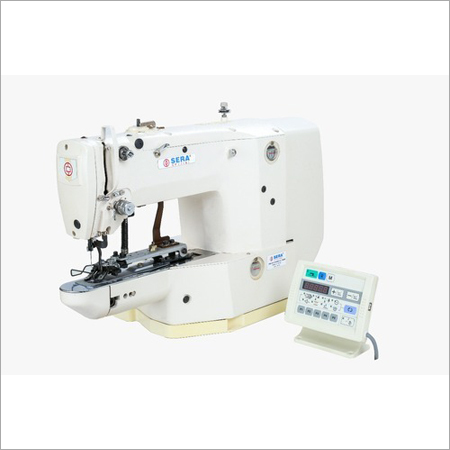 Electronic Button Stitch Machine