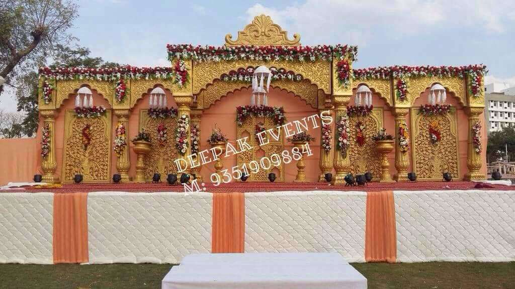 Fort Style Wedding Gate