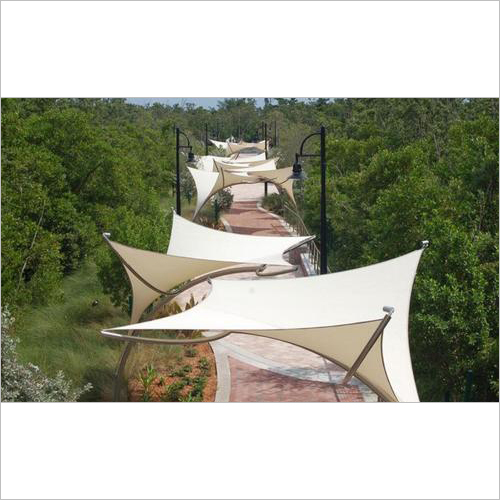 Tensile Walkway Covering