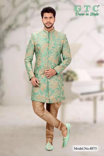 4073 Exclusive Wedding Sherwani