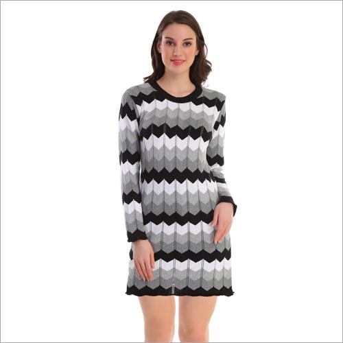 One Piece Woolen Dress