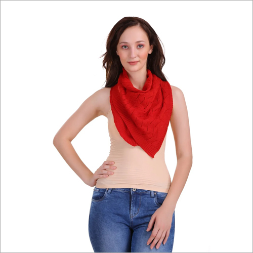 Cotton Red Stole