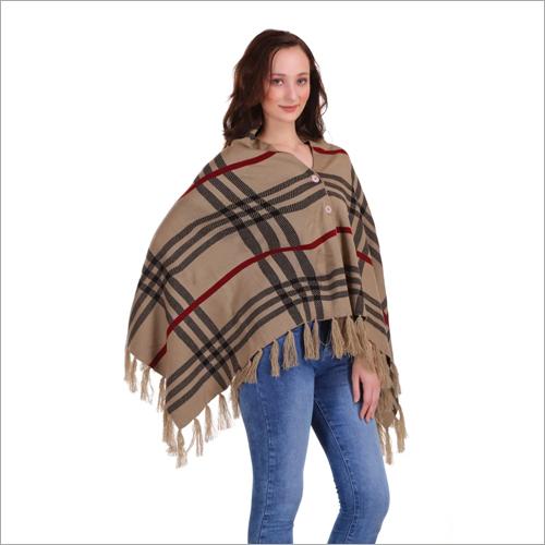 Ladies Woolen Poncho