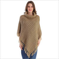 Fancy Woolen  Poncho