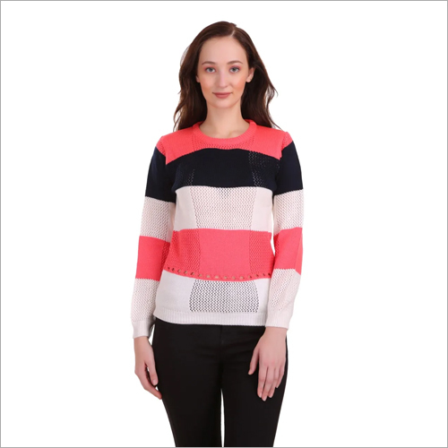 Ladies Knitted Woolen Top