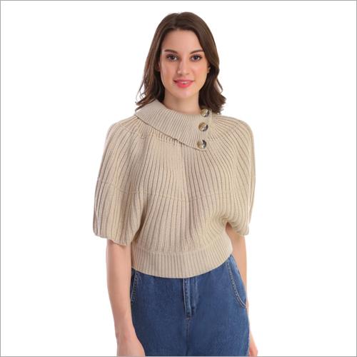 Ladies Casual Wear Woolen Top